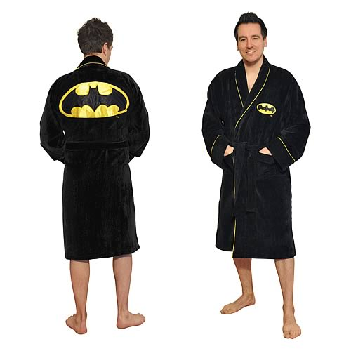 Batman Fleece Bathrobe