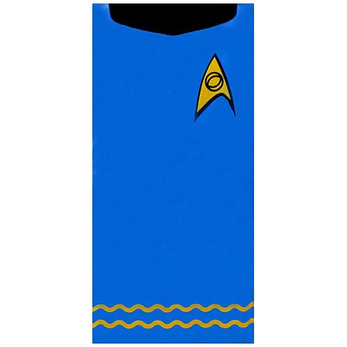 Star Trek Spock Blue Beach Towel