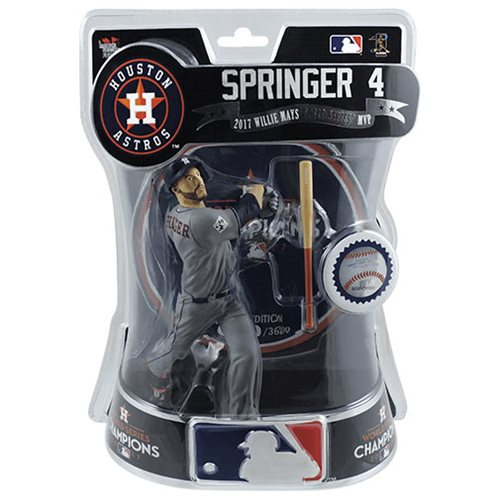 MLB Houston Astros George Springer Limited Edition 6-Inch Action Figure