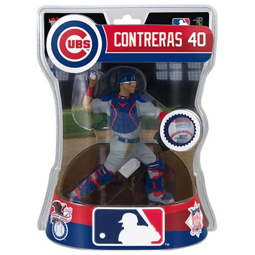 MLB Chicago Cubs Willson Contreras 6-Inch Action Figure