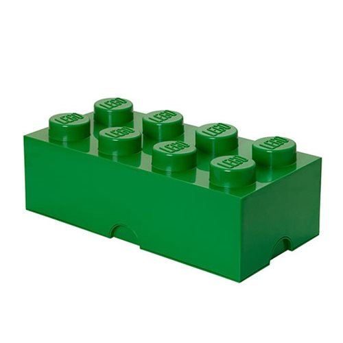 LEGO Dark Green Storage Brick 8