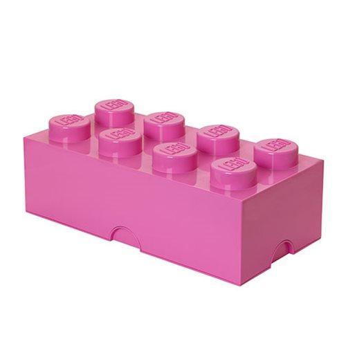LEGO Medium Pink Storage Brick 8