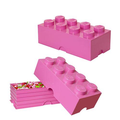 LEGO Medium Pink Friends Storage Brick 8