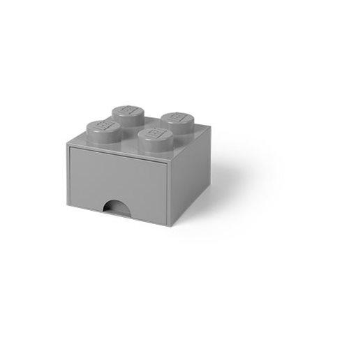 LEGO Grey Brick Drawer 4