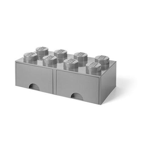 LEGO Grey Brick Drawer 8