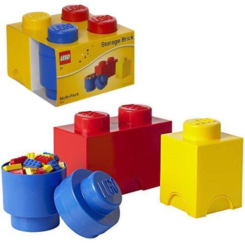 LEGO 3-Piece Storage Multipack