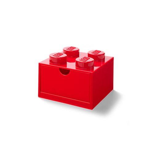 LEGO Red Desk Drawer 4