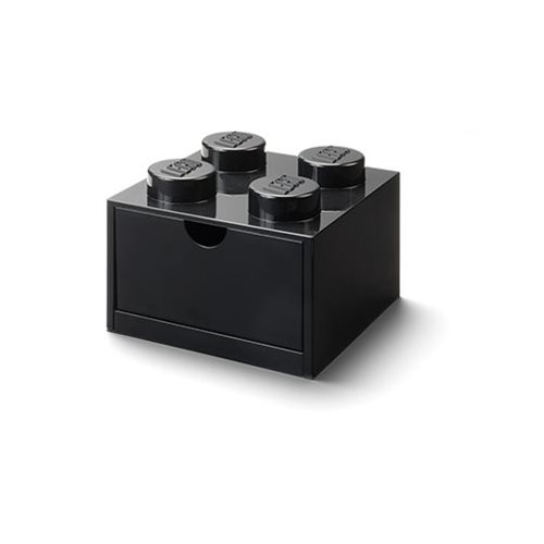 LEGO Black Desk Drawer 4