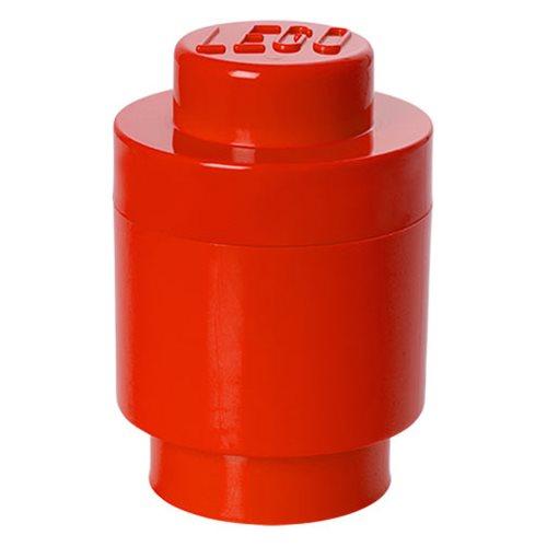 LEGO Red Round Storage Brick 1