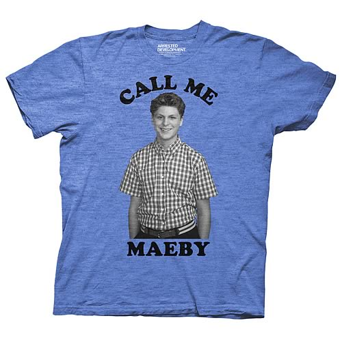 Arrested Development Call Me Maeby Blue T-Shirt