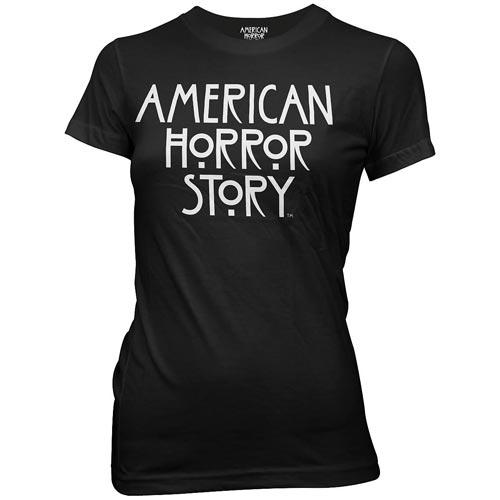 American_Horror_Story_Logo_Black_Juniors_TShirt