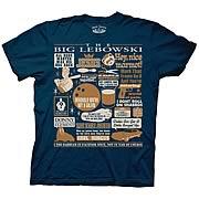 The Big Lebowski Quote Mash-Up T-Shirt