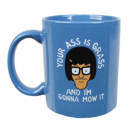 Bob's Burgers Your Ass Is Grass Mug