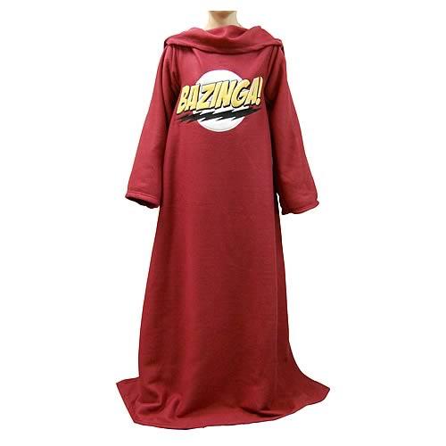 Big Bang Theory Bazinga Snuggler Blanket