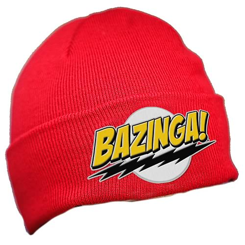 Big Bang Theory Bazinga Knit Hat