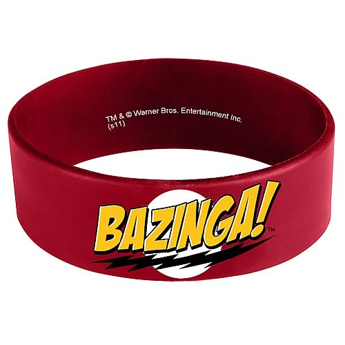 Big Bang Theory Bazinga Rubber Bracelet