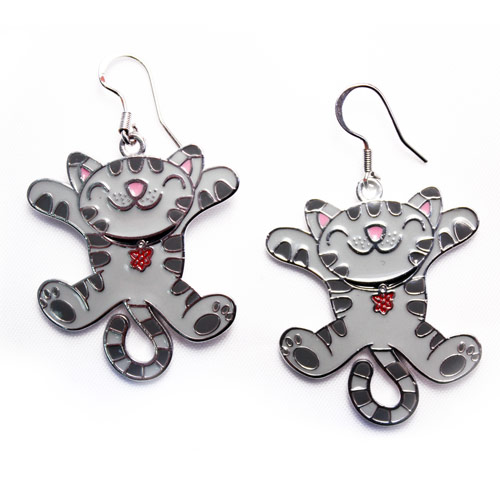 The Big Bang Theory Soft Kitty Earrings