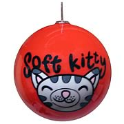 Big Bang Theory Soft Kitty Ball Ornament