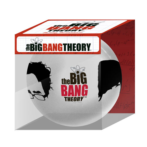 Big Bang Theory Characters Hairlines Holiday Ball Ornament