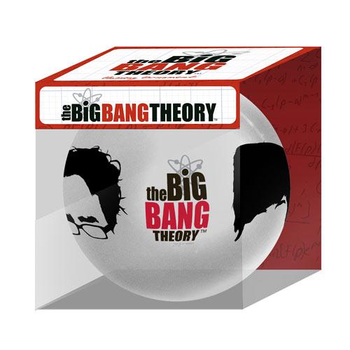 Big Bang Theory Characters Hairlines Holiday Ball Ornament