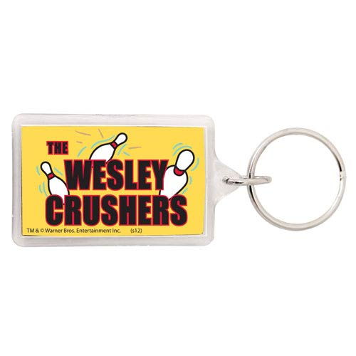 Big Bang Theory Wesley Crushers Key Chain