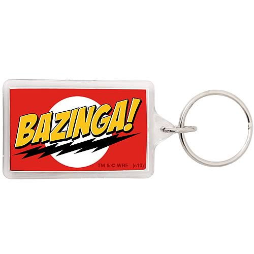 Big Bang Theory Bazinga Key Chain