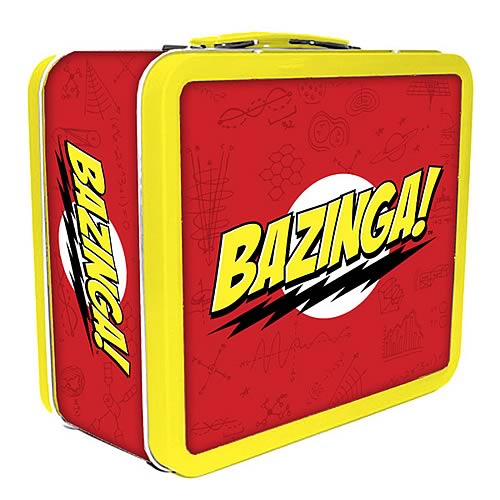 The Big Bang Theory Bazinga Lunch Box