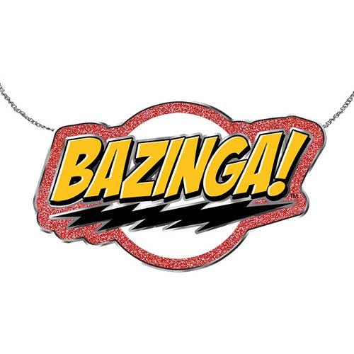 The Big Bang Theory Bazinga! Necklace