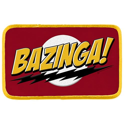 Big Bang Theory Bazinga Patch