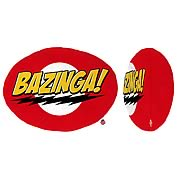 Big Bang Theory Bazinga Plush