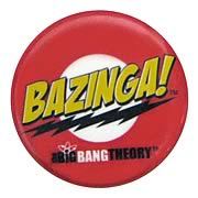 Big Bang Theory Bazinga! Pin