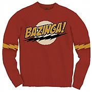 Big Bang Theory Bazinga Knit Sweatshirt
