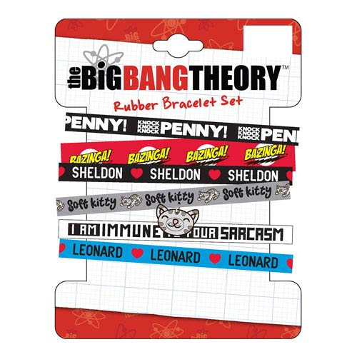 Big Bang Theory Bracelets 6-Pack Set