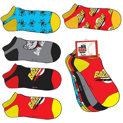 Big Bang Theory Bazinga! Socks 5-Pack Set