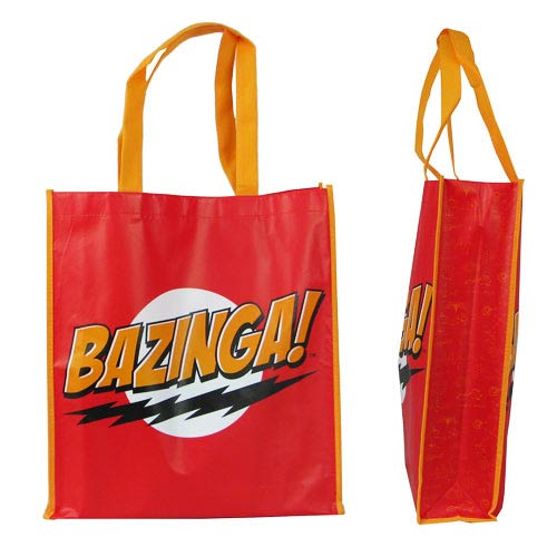 Big Bang Theory Bazinga! Tote Bag