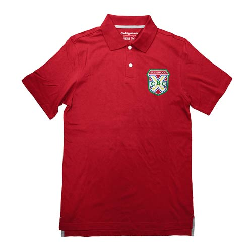 Caddyshack Bushwood Country Club Red Polo T-Shirt