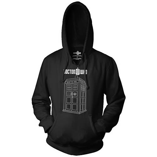 Doctor Who Tardis Hooded Sweatshirt