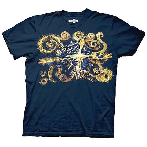 Doctor Who Van Gogh Pandoric Opens T-Shirt