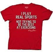 Eastbound & Down I Play Real Sports Red T-Shirt