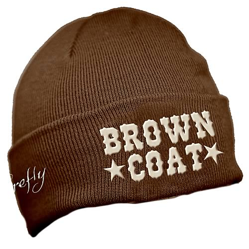 Firefly Browncoat Brown Beanie Hat