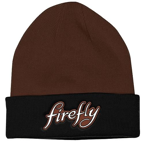 Firefly Logo Brown Beanie Hat