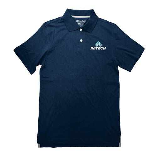 office space initech company logo polo t shirt ripple