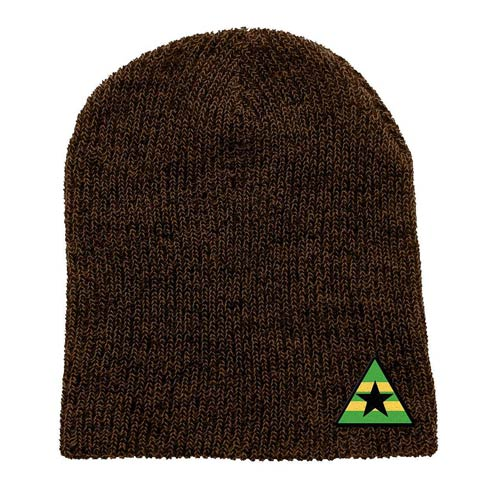 Firefly Browncoats Triangle Marled Beanie Hat