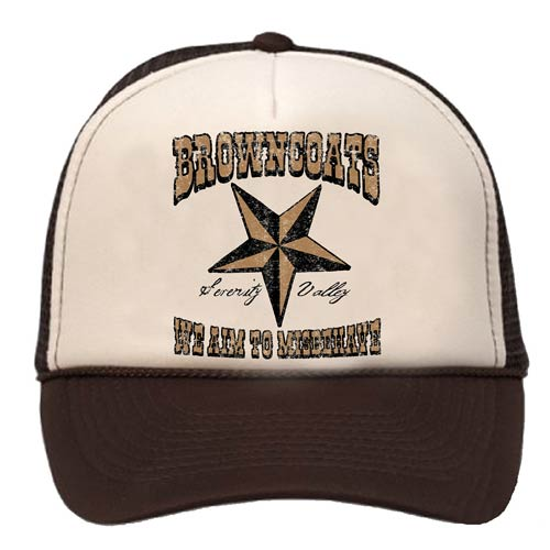 Firefly Browncoat Brown Trucker Hat