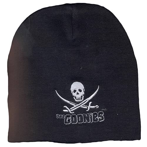 The Goonies Logo Black Beanie Hat