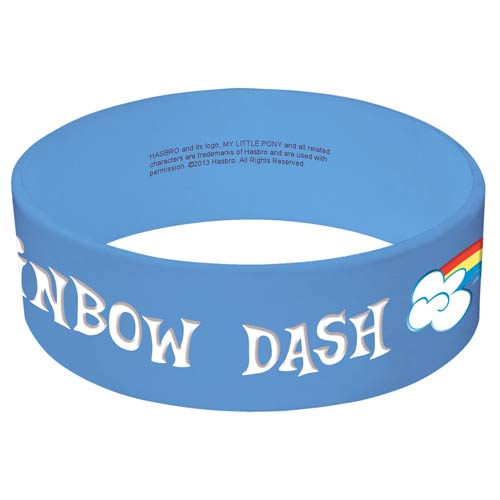 My Little Pony Friendship Is Magic Rainbow Dash Bracelet