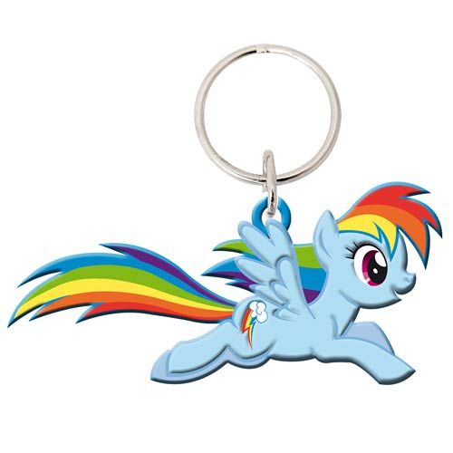 My Little Pony Friendship Is Magic Rainbow Dash Key Chain