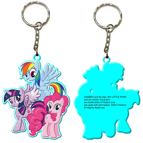 My Little Pony Friendship Is Magic Group Ponies Key Chain