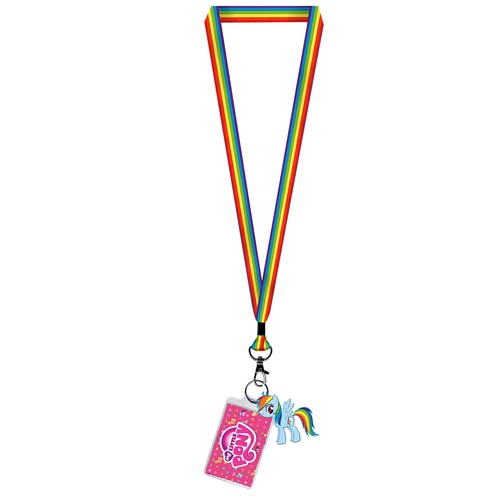 My Little Pony Rainbow Dash Lanyard Key Chain