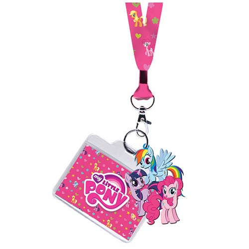 My Little Pony Group Ponies Lanyard Key Chain